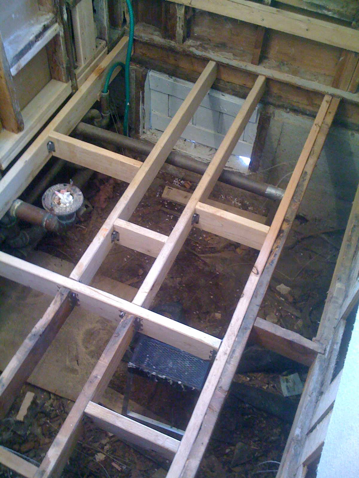 ...and Subfloor Replacement