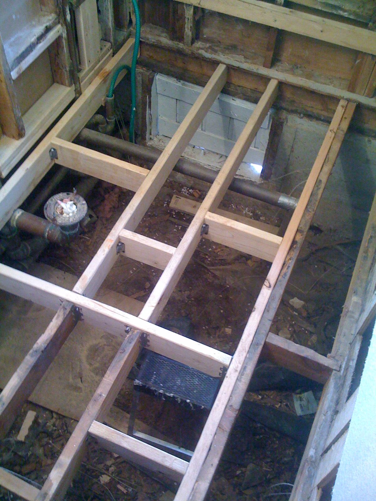 Bathroom Subfloor Replacement Cost Tyresc - Bathroom subfloor replacement cost